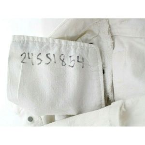 Re/Done Jeans - Re/Done Levi's White Distressed Skinny Jeans